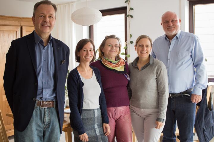 Foto des Stiftungsvorstandes entstanden am 7. März 2020 bei der Vorstandssitzung